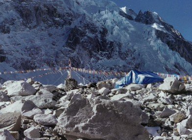 Base Camp, Mt. Everest from Brent Thomson