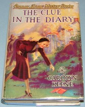 Nancy Drew mystery book