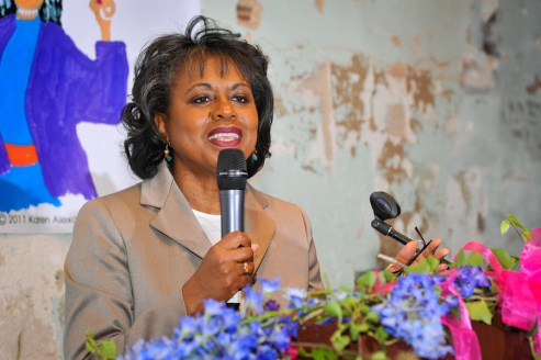 Anita Hill at 20th Annual Anita Hill Party