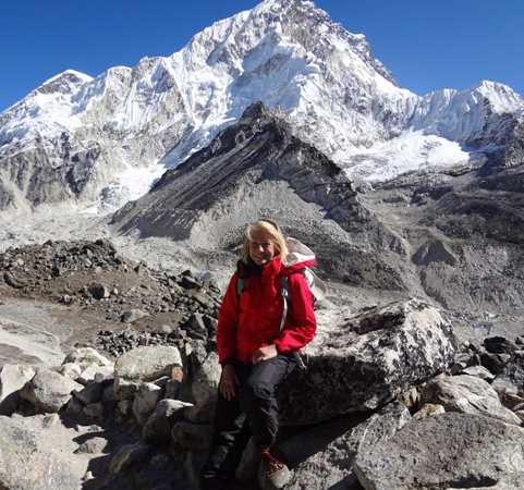 Brent Thomson on Mt Everest, Dec. 2011 on TWE