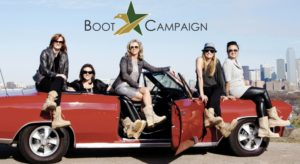 The Boot Girls who campaign to support our military