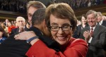 Gabby Giffords Resigns After Tearful Farewell--Photo AP