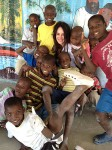 Madeleine Stowe Blogs from Haiti