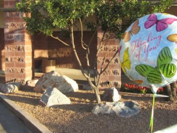 Safeway Memorial in Tucson-1/8/12--Photo: Pamela Burke