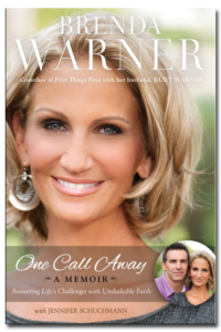 "Brenda Warner's book ""One Call Away"""