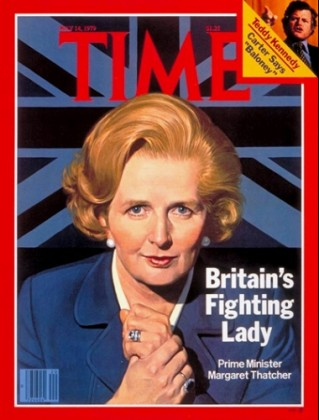 "Meryl Streep in ""The Iron Lady""--Time Magazine cover of Margaret Thatcher"