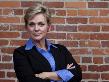 Jennifer Granholm, host of The War Room for Current TV