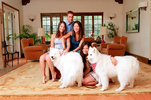 Amy Chua's Family, 2010 from her Battle Hymn book