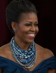 Tom Binns Necklace for Michelle Obama