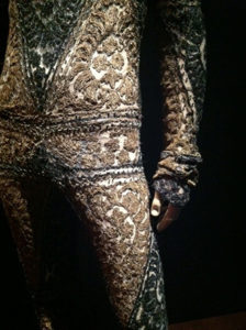 Gaultier's Lace Handwork from the de Young exhibit