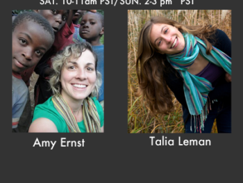 TWE Radio Interviews with Amy Ernst and Talia Leman