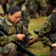 Marines Moving Women Towards Front Lines