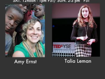 On TWE Radio with Guests Amy Ernst and Talia Leman