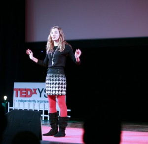 Talia Leman of RandomKid at TEDxYSE