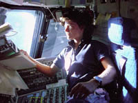 Astronaut Sally Ride for TWE Top 10 | Photo by Reuters from NBC article