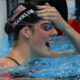 Missy Franklin, 17-year-old swimmer reacts when she wins Olympic Gold | Photo: Robert Gautheir