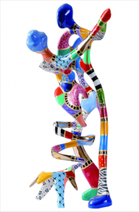 Renoir's Dancers Sculpture by Dorit Levinstein at the New York Palace Hotel for TWE Top 10