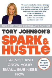 Tory Johnson Spark and Hustle book