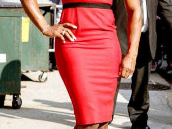 Serena Williams in Christian Louboutin Decorapump Shoes