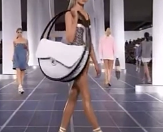 Chanel's Hula Hoop Purse at the Paris Fashion Show 2013 for TWE Fun Stuff | Video: Sevelina London