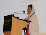 Malala Yousafzi, child activist injured in Swat by Taliban