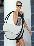Massive Chanel bag in hula hoops wows on runway at Paris Fashion Week for TWE Top 10 | From NYDailyNews.com Photo: Kristy Sparow/WireImage
