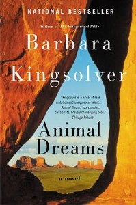 "Barbara Kingsolver, author ""Animal Dreams"""