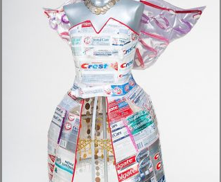 Artist Charlotte Kruk's Wisdom Tooth Fairy Dress for TWE Top 10