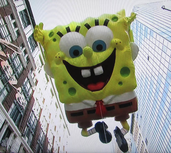 Have a Great Day! From SpongeBob at the Macy's Thanksgiving Day Parade 2012