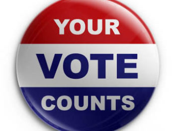 Vote: Your Vote Counts button