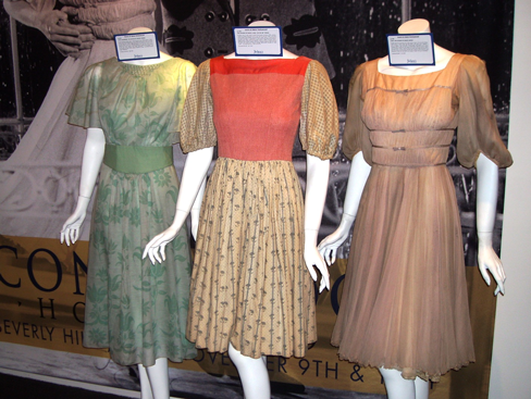 """""""Sound of Music"""" dresses at Julien's Icons & Idols Auction 11/10/12"""