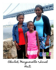 Haitian girls with Global Medical Relief Fund