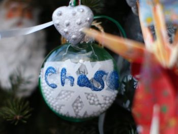 Christmas ornament for Chase Kowalski, victim of Sandy Hook Tragedy