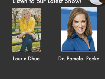 "TWE Radio Podcasts with Laurie Dhue, TV anchor, and Dr. Pamela Peeke, author of ""The Hunger Fix"""