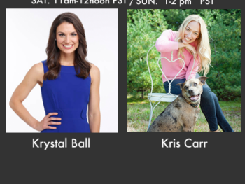 On TWE Radio: Krystal Ball and Kris Carr for Dec. 15,16 2012 show and Encore Jan. 12,13 2013 Show