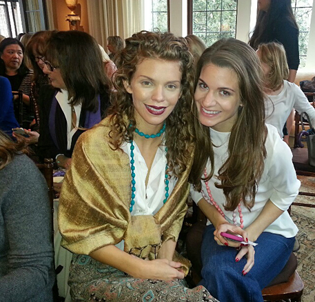 AnnaLynn McCord and sister Rachel at Women A.R.E. event in Beverly Hills/1-25-13
