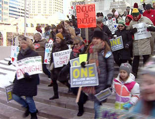 One Million Moms for Gun Control March--WISH-TV
