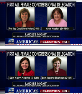 New Hampshire First All Female Congressional Delegation