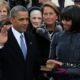 President Barack Obama and Michelle on Inauguration Day 2013/Mrs-O.com