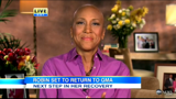 Robin Roberts announces her return to Good Morning America in this ABCNEWS videio