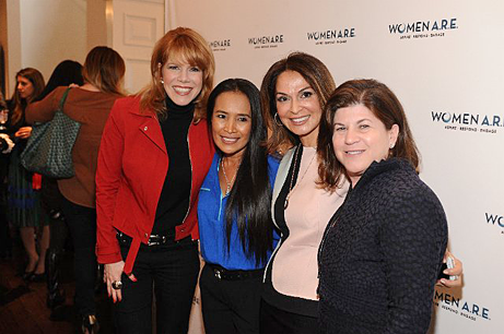 Stacey Gualandi and Somaly Mam with founders, Angella Nazarian and Beth Friedman