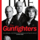 Time Magazine Jan. 28, 2013 cover: 'Gunfighters' with Vice Pres. Joe Biden, Mayor Michael Bloomsberg and former U.S. Rep. Gabby Giffords