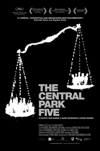 Sarah Burns documentary Central Park Five poster