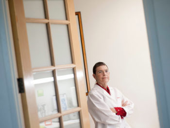 Susan Love, Cancer Doctor and Patient/Photo: Michal Czerwonka for NY Times
