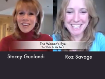 TWE Talk with Host Stacey Gualandi and Roz Savage, Ocean Rower and TEDxYale speaker