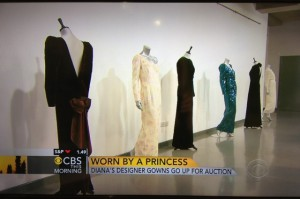 Princesss Diana's Dresses go to Auction/cbsnews.com
