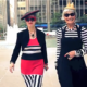 Jean and Valerie, The Idiosyncratic Fashionistas