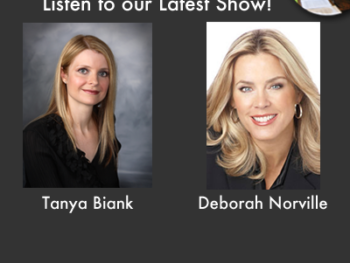 "Tanya Biank, Author of ""Undaunted"" and Deborah Norville, host of TV newsmagazine, ""Inside Edition"""