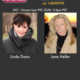 Linda Dano, TV actress and entrepreneur, and author Jane Heller