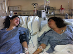 Sydney (L) and Celeste (R) Corcoran, Mother-Daughter Bombing Victims at the Boston Marathon